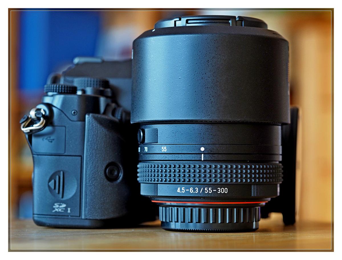 Pentax KP + DA 55-300 f4.5-6.3