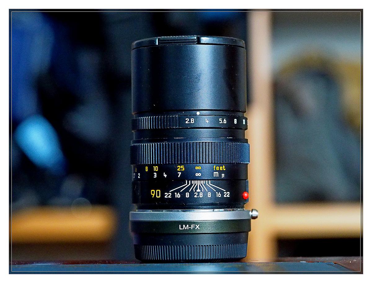 Leica Elmarit 90 f2.8