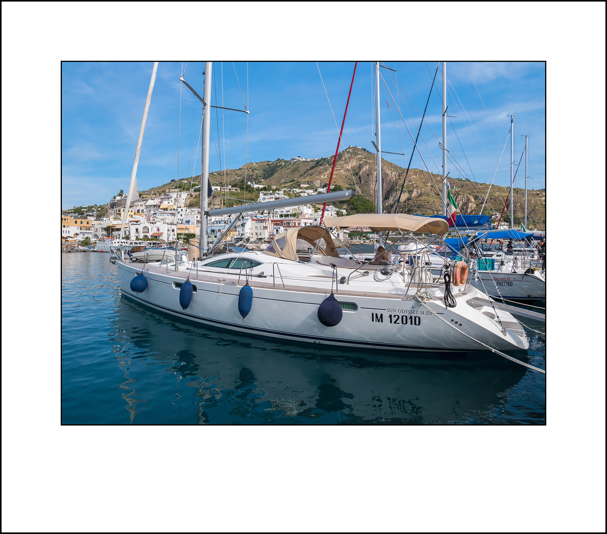 Sailing on the Sun Odyssey 54