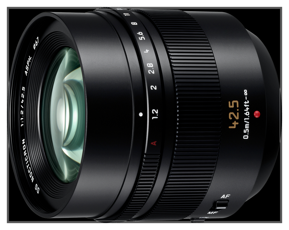 Panasonic-Leica Nocticron 42.5 f1.2