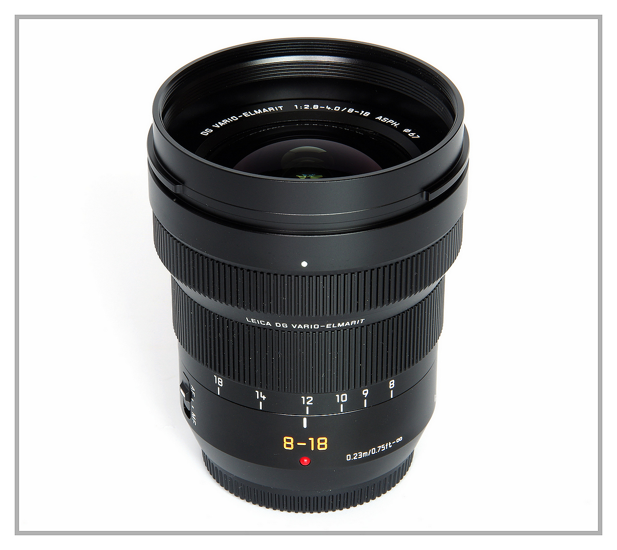 Panasonic 8-18 f2.8-4.0