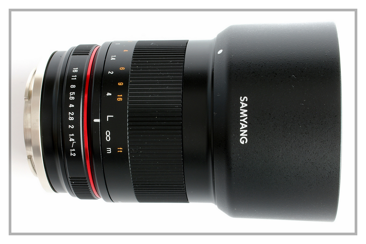 Samyang 50 f1.2